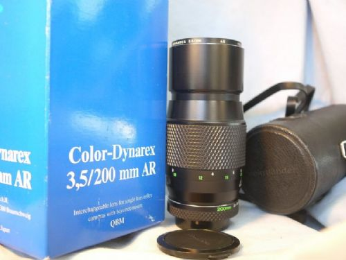 '       200mm Voigtlander Color Dynarex -CASED-BOXED-NICE-MINT-GREAT BOKEH- '  Voigtlander 200MM 3.5-MINT-Prime  Lens - DIGITAL COMP-TOP BOKEH- £59.99